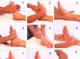 Как правильно делать массаж стоп?