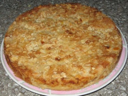 Варшавский яблочный пирог, давно переплюнул шарлотку!