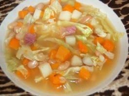 Жиросжигающий суп. -8 кг за неделю