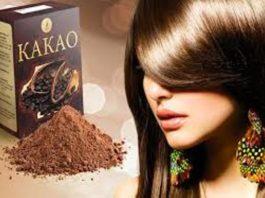 Маска для роста и бешеного объема волос с какао