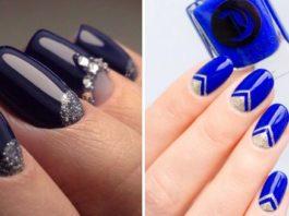 Маникюр фиолетовый: модные оттенки и дизайн