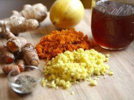 «Зимний» чай с куркумой и имбирем — отличная профилактика болезней сердца!