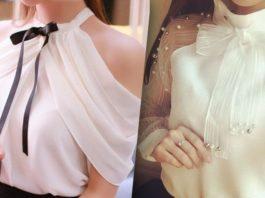 Актуальный тренд: 14 белых блузок, без которых не обойтись