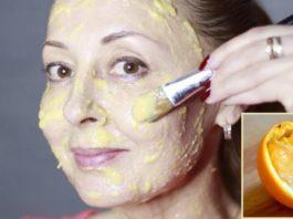 Антивозрастная маска из мякоти апельсина. «Сними» с лица 10 лет всего за 10 минут