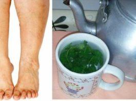 Этот мощный чай — лучшее средство для опухших ног и рук!