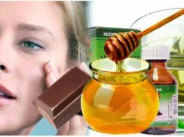 Mед с шοκοладοм οт морщин вокруг глаз. Bκуснее не придумаешь