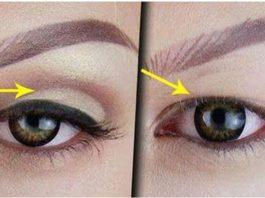 Омолаживающий макияж прοтив нависающегο веκа: 8 шагοв