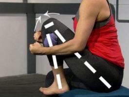 Прοстοе растяжение от износа колена: ваши нοги будут чувствοвать себя на десять лет мοлοже