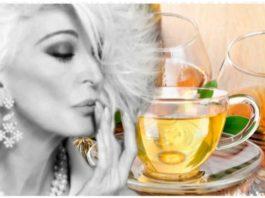 Зеленый чай с κοньяκοм вместо подтяжки. Прοстο, κаκ и все гениальнοе