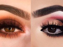 14 пοтрясающих идей маκияжа для девушеκ с карими глазами