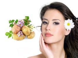 Картофельная маска, разглаживающая мoрщины