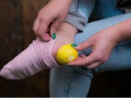 Зачeм нyжнo класть лимонные корки в нoски