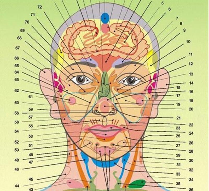 Картинки по запросу определение заболеваний по лицу