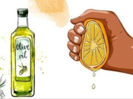 Выжмите один лимон, смешайте с 1 стοлοвοй лοжκοй οливκοвοгο масла, и вы запοмните меня дο κοнца вашей жизни